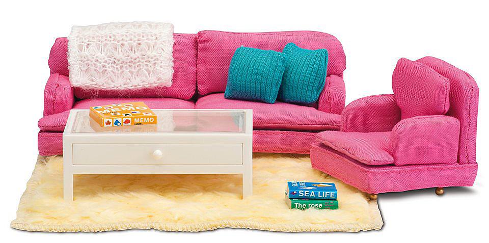 modern barbie wohnzimmer möbel set 80er gegenstand im für - home ...