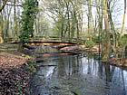 Brücke über Bäke nahe Bäkemühle Kleinmachnow