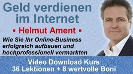 kurs geld verdienen ueber das internet von successcoach helmut ament
