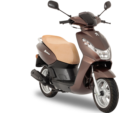 Scooter 50 4T Peugeot KISBEE 50 Chocolate