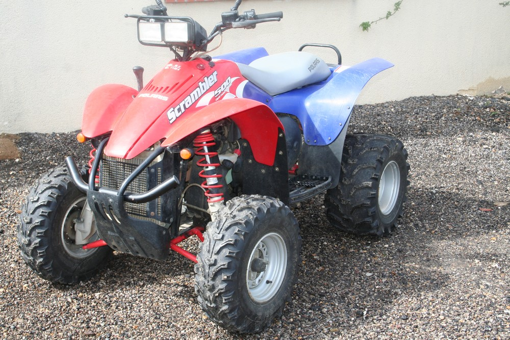 Quad polaris 500 scrambler