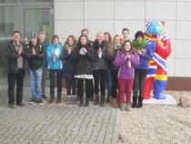 Pellworm Schule - Fahrt nach Berlin