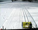 Skispoor machine