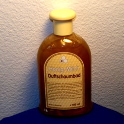 500ml. Honig-Milch Duftschaumbad