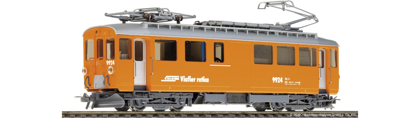 Bahndiensttreibwagen orange