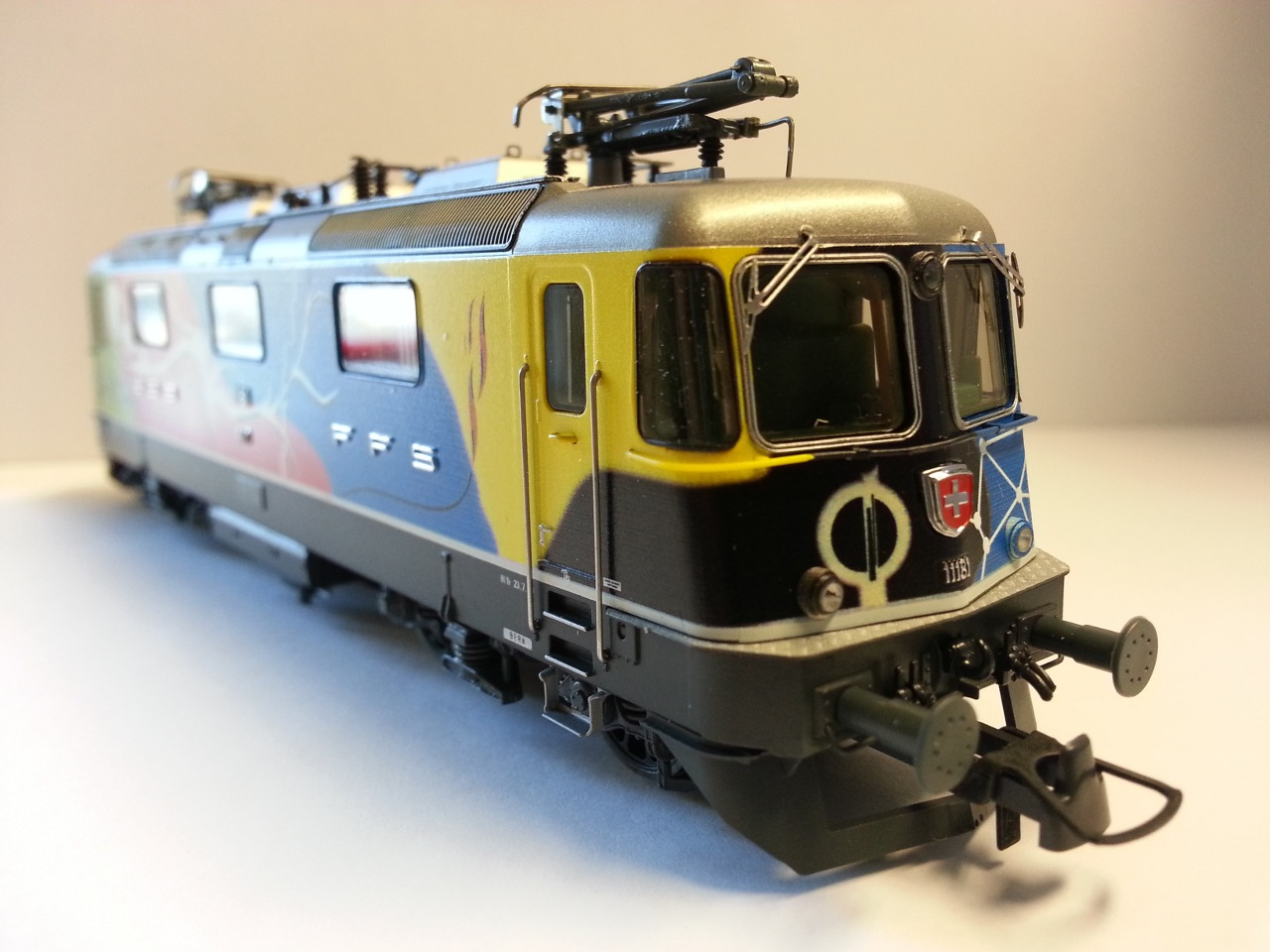 Roco 72410 - Elektrolokomotive Re 4/4 II der SBB - 11181 Bourret-Design