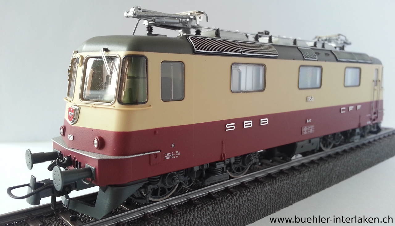 Roco 78401 - Elektrolokomotive Re 4/4 II, SBB (AC, digital inkl. Sound)