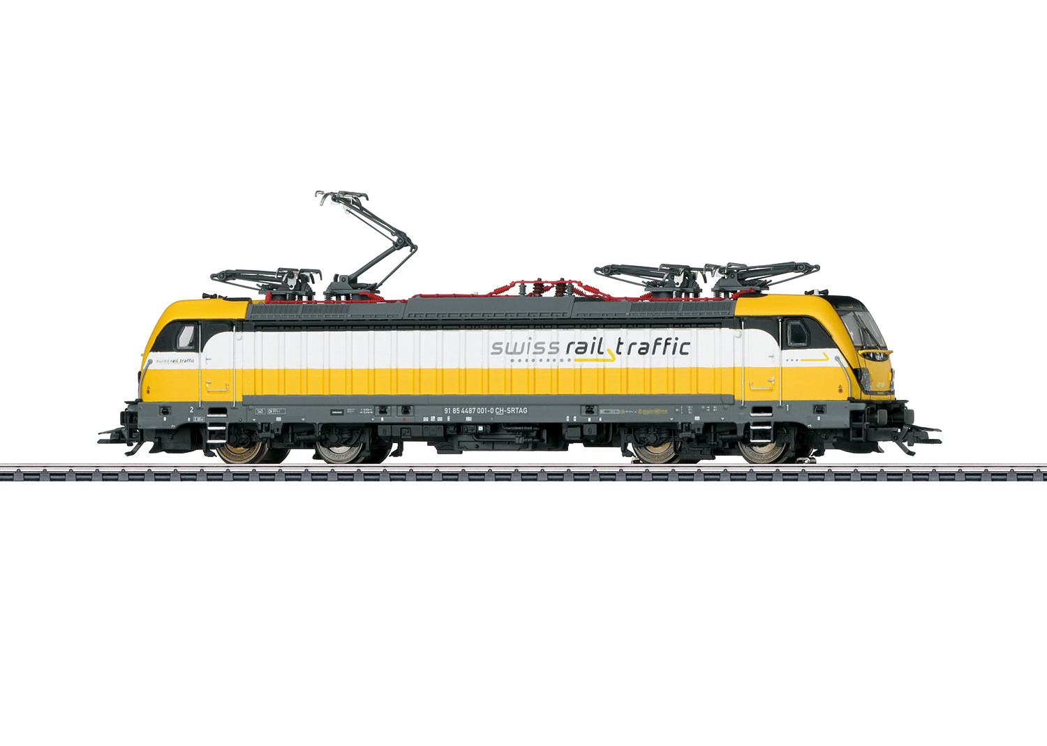 Märklin 36635 - Swiss Rail Traffic, BR 487 (TRAXX AC 3 LM), #001-0, Ep. VI