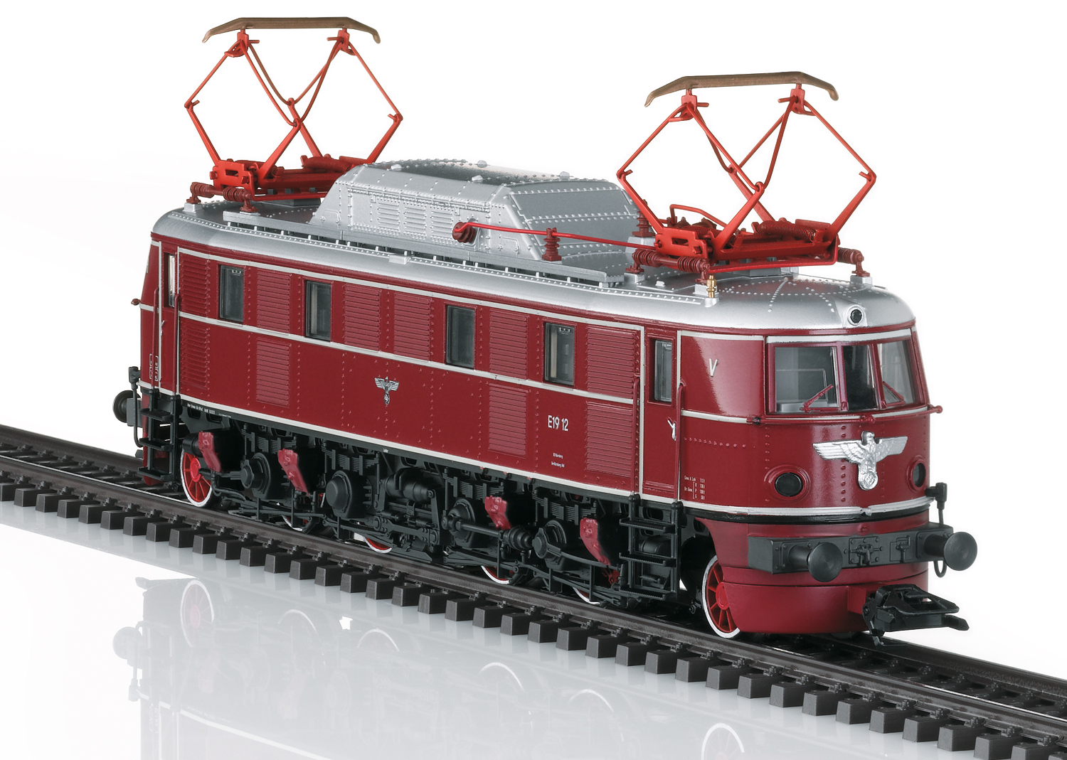 Märklin 39193 - DR Elektrolokomotive Baureihe E 19.1, Museumsversion, digital mit Sound (mfx)