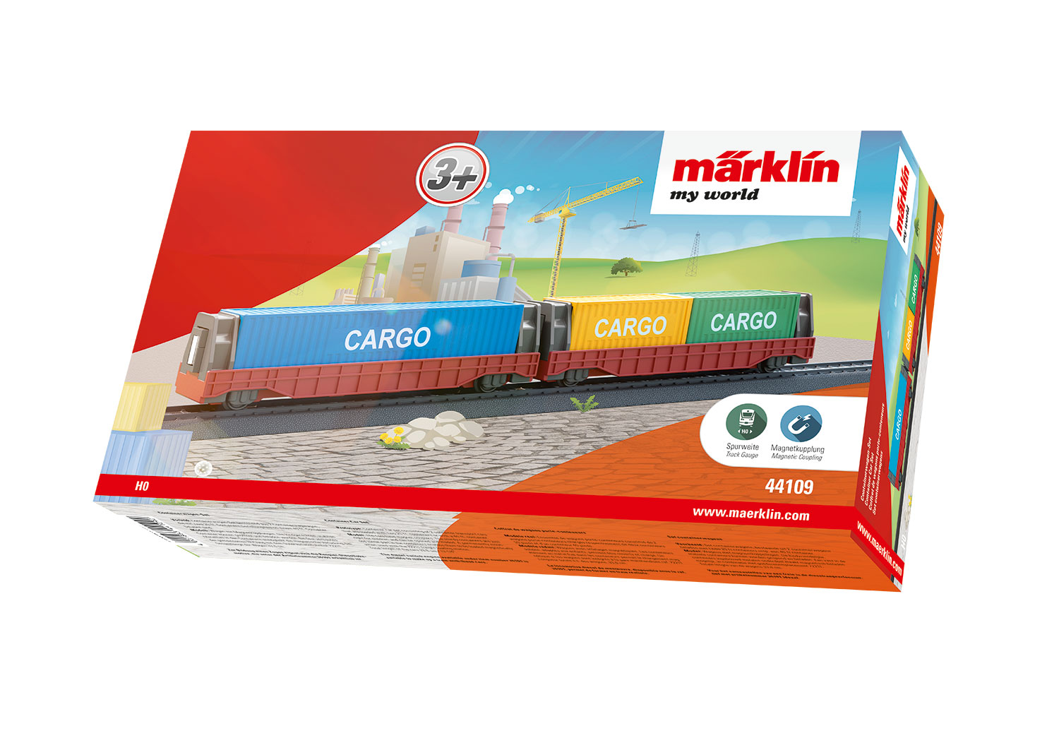 Märklin my world 44109, Containerwagen-Set, 2-teilig