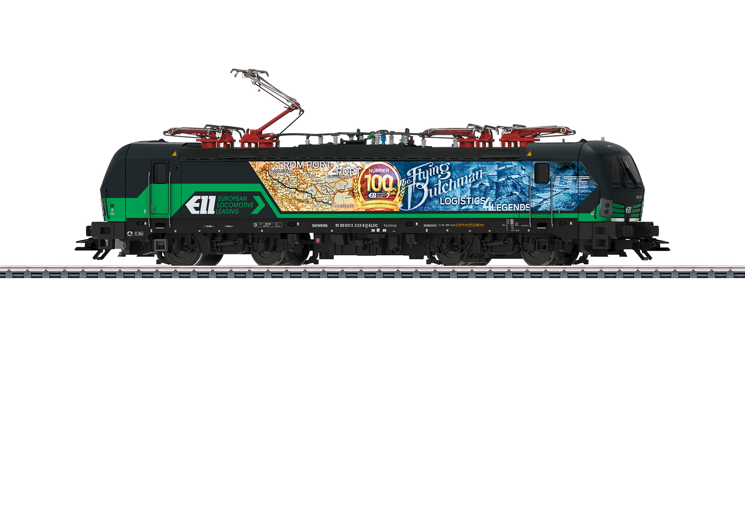 "Märklin 36183, ELL/LTE, Baureihe 193, ""Flying Dutchman"", Ep. VI"