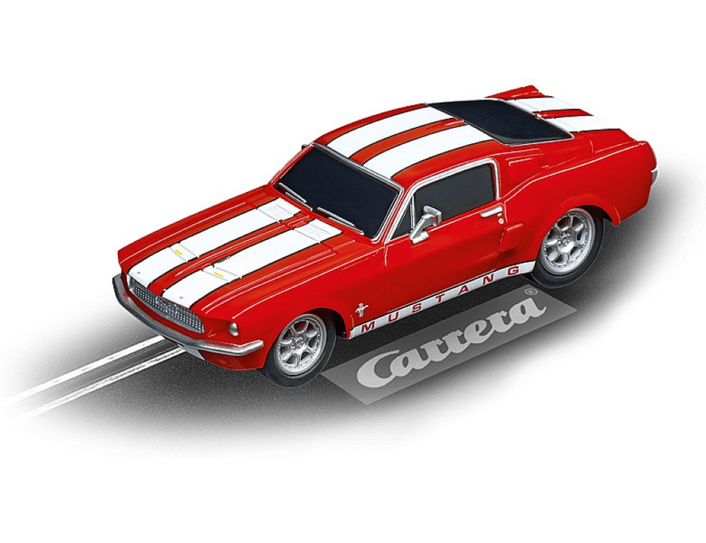 Carrera 64120, GO! Fahrzeug, GO! Ford Mustang '67 Racing Red