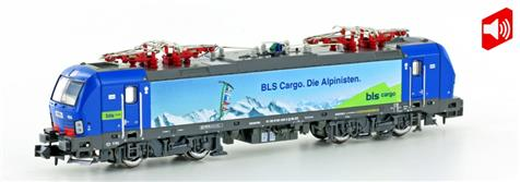 "Hobbytrain H2998S, Spur N, BLS Hupac Re 475 ""Vectron"", Ep. VI, digital mit Sound"