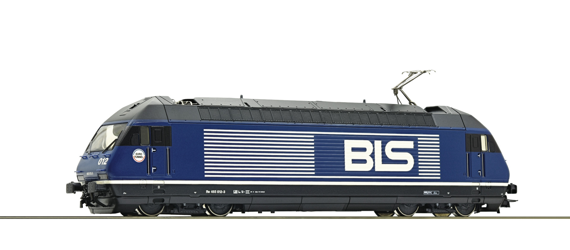 Roco 79288, BLS Re 465, BNr.: 012-3, Ep. V, blau, digital mit Sound