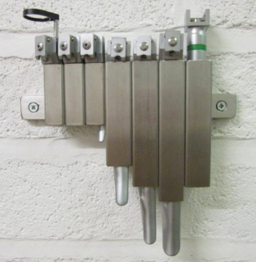 Laryngoholder set holders, stainless steel laryngoholder set holders