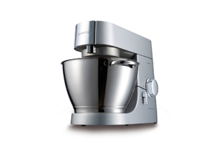 Kenwood Chef Titanium swiss edition KMT016 silber