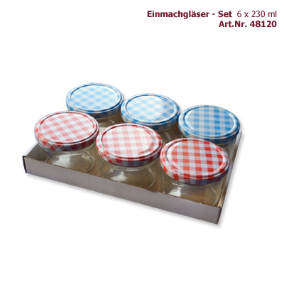 Tray Konfitürenglas 230 ml