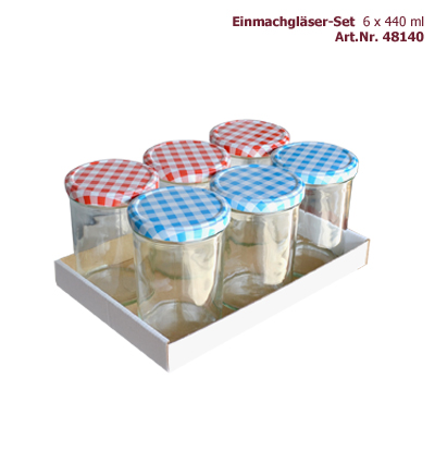 Tray Konfitürenglas 430 ml