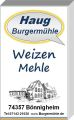 --- Weizenmehle