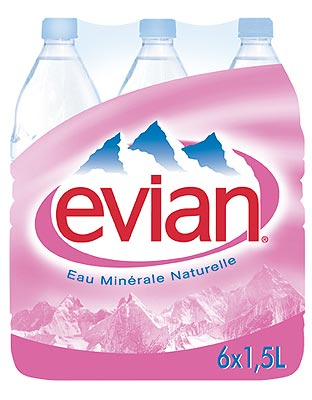 Evian ohne KS Maxi Pet EW Six Pack