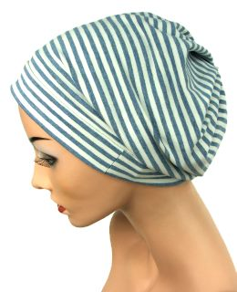 1 x Cap Mütze Turban Alopezie Chemo Beanie bordeaux-rot NEU OVP