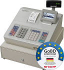 Sharp Registrierkasse XE-A207W, GoBD konform