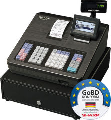 Sharp Registrierkasse XE-A207B, GoBD konform