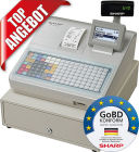 Sharp Registrierkasse XE-A217W, GoBD konform