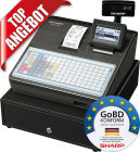 Sharp Registrierkasse XE-A217B, GoBD konform