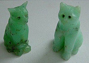 Chrysoprase Cats