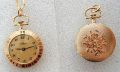 Pendent Watch, Gold plated, 25mm