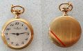 Pendent Watch, gold plated,