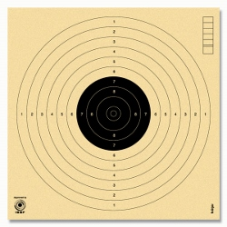 Cibles 10m ISSF