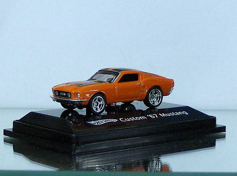 Hot Wheels 67 Ford Mustang Orange