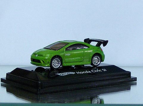 Hot Wheels Honda Civic SI Grün