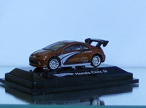 Hot Wheels Honda Civic SI Rot