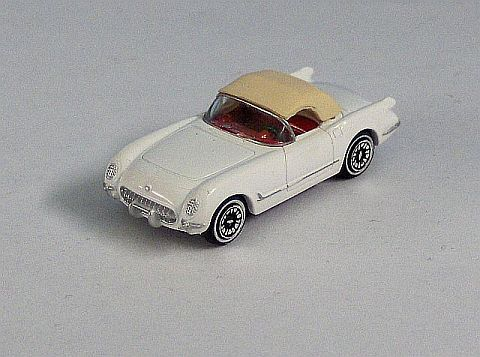 Micro Machines 54 Corvette Roadster weiss