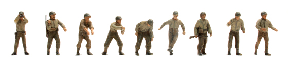 US M12 Art. crew M12 9 Fig.