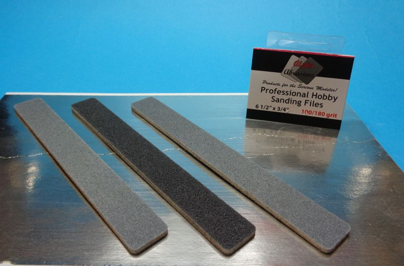 Professional Hobby Sanding Files