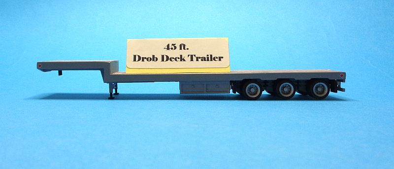45 ft. Drop-deck Trailer