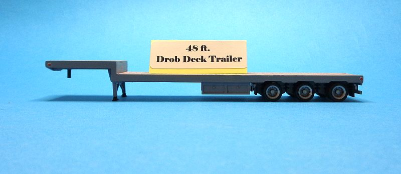 48 ft. Drop-deck Trailer