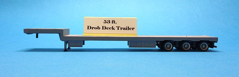 53 ft. Drop-Deck Trailer