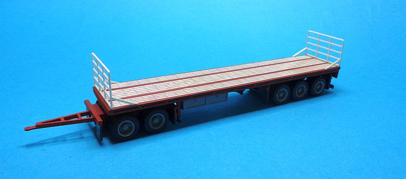 B-Double Flat-Top B Trailer Kit ohne  Dolly