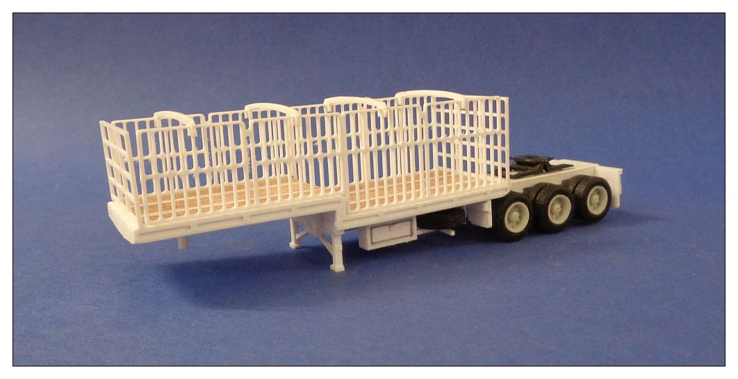 A- Drop Deck Trailer with Gates
