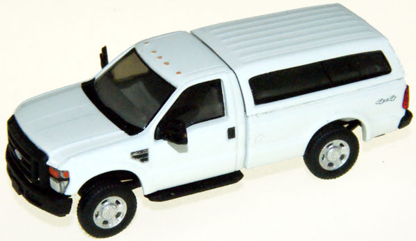 RPS F 350 XL SRW Reg. Cab. White with Contoured Cap