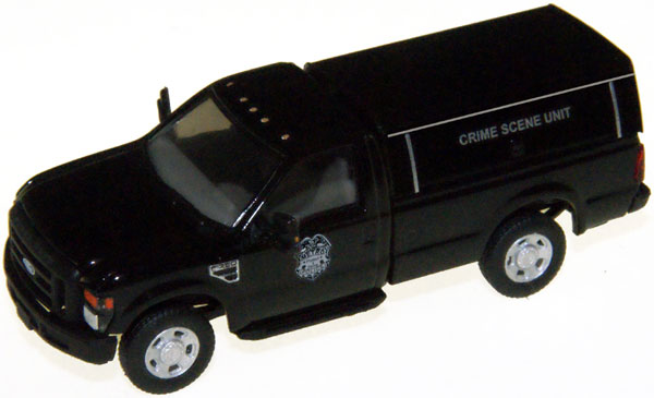 F-350 XL SRW Reg. Cab. Crime Scene Unit Black