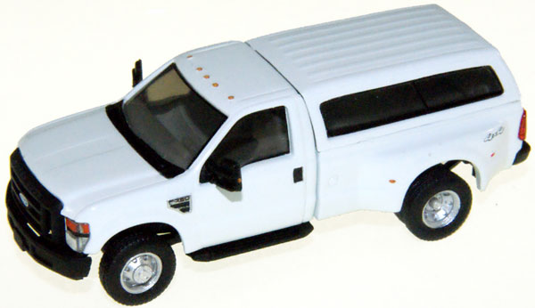 RPS F-350 XL STD DRW Reg. Cab. White with Contoured Cap