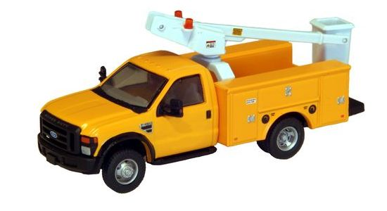 RPS F-450 XL DRW Service Truck Bucket RC Yellow