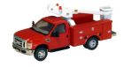 RPS F-450 XL DRW Service Truck RG Bucket Red