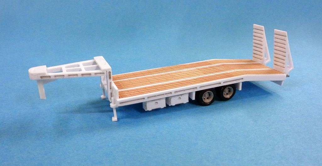 Gooseneck  2 Axle Car Trailer